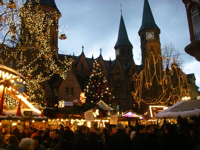 Church in Kaiserslautern Christmas Market ... this was so beautiful, you never want to leave...