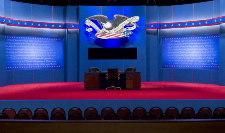 Donald Trump Won The Debate With One Epic Sentence Watch Trump Shut Her Down( video) http://www.usasupreme.com/donald-trump-won-debate-watch-trump-shut-video/ The stage is set for the final presidential debate at Lynn University in Boca Raton, Florida, October 22, 2012. US President Barack Obama and Republican Presidential candidate Mitt Romney will meet later tonight for the final time in a debate focusing on foreign policy. AFP PHOTO / Saul LOEBSAUL LOEB/AFP/Getty Images