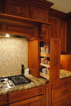 HomeCrest Cambridge Cherry Autumn - mediterranean - kitchen cabinets - philadelphia - Sterling Kitchen & Bath