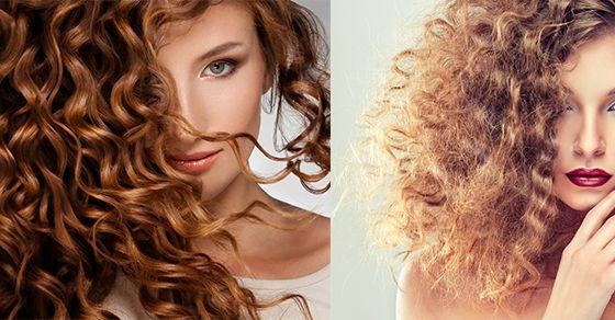 Přirozeně kudrnaté vlasy