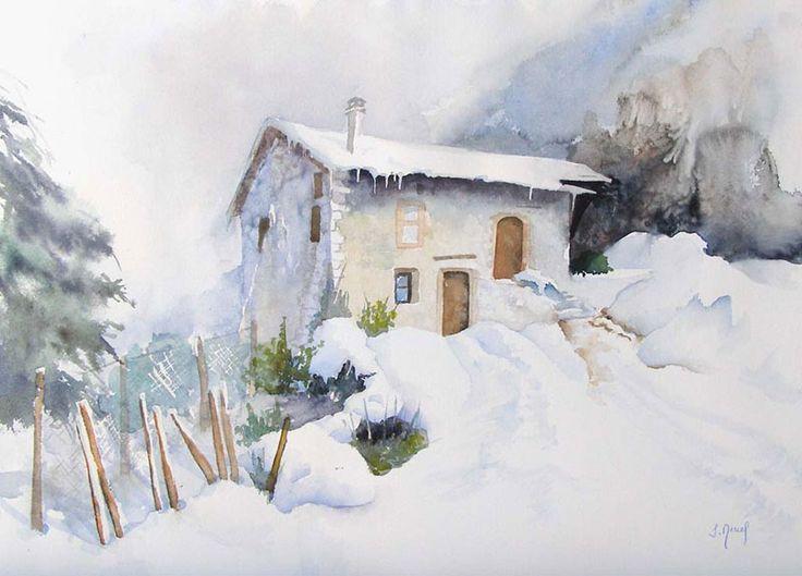 Neige à St André