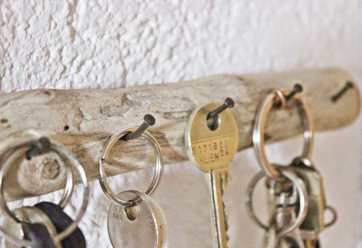 Schlüsselleiste aus Schwemmholz