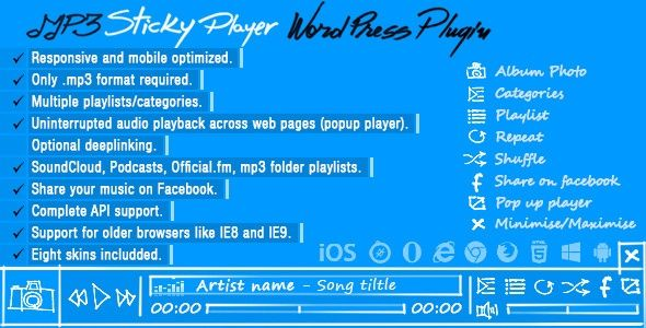 audio, download, mobile, mp3, mp4, music, player, playlist