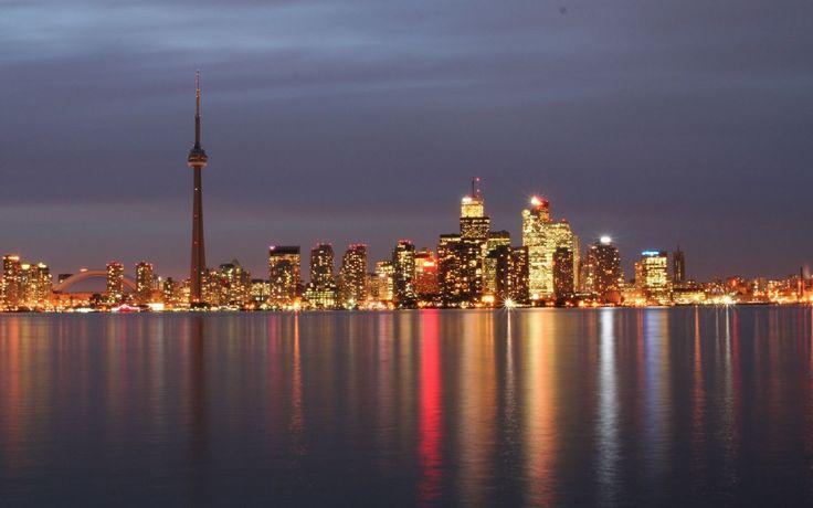 ... Toronto Wallpapers » Toronto Wallpaper » toronto-skyline-wallpaper