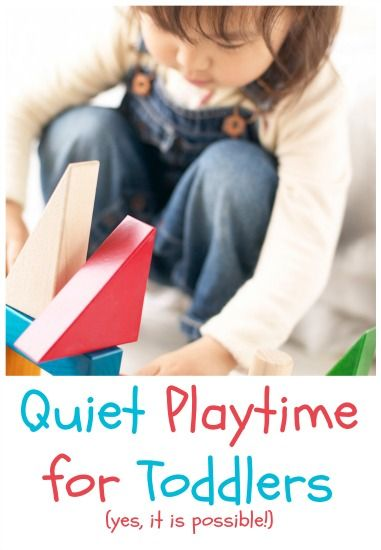 love these ideas for teaching your toddler how to play quietly at certain times throughout the day. (while baby is sleeping or mama is cooking dinner. No more crazy hour at 5pm? Yes, please!