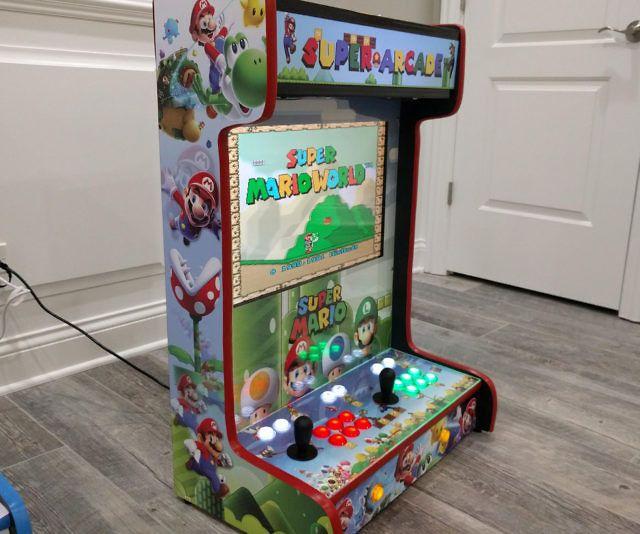 Wall Mounted Arcade Machines Diy Arcade Cabinet Arcade Cabinet