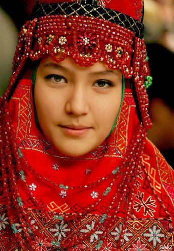 uzbekistan national costume - Google Search