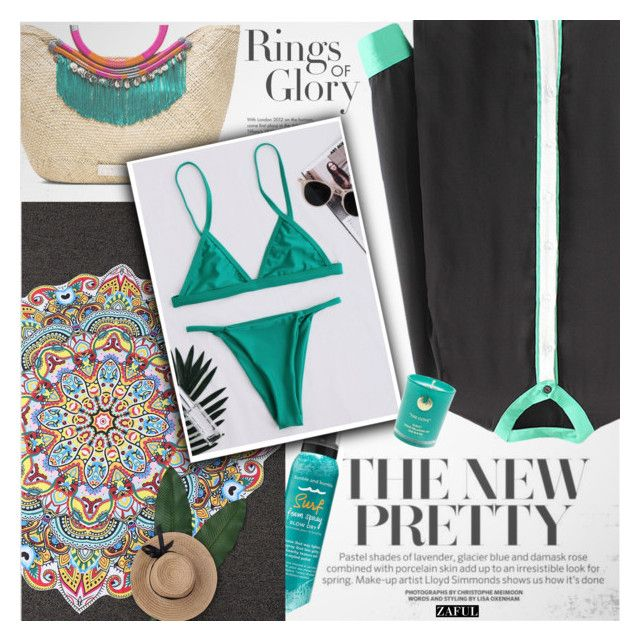 """""""Emerald green"""" by vanjazivadinovic ❤ liked on Polyvore featuring Tiffany & Co., Bumble and bumble, Hightide Devon, polyvoreeditorial and zaful"""