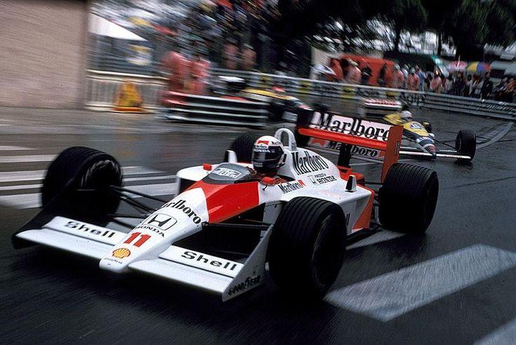1988 GP Monaco (Alain Prost) McLaren MP4/4 - Honda