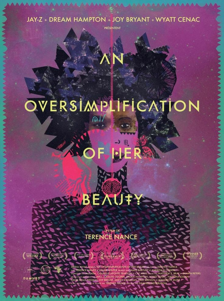 AN OVERSIMPLIFICATION OF HER BEAUTY // Amer. semianimated