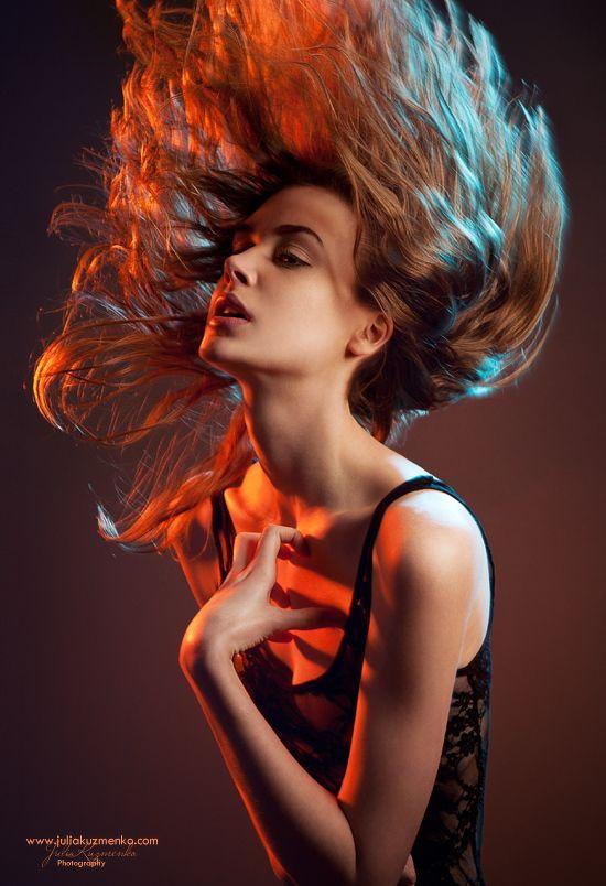 Julia Kuzmenko McKim - Fashion photography - Natural disasters, volcano concept ideas