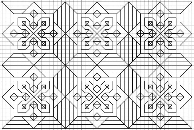 Imaginesque: Blackwork Embroidery: More Fill Patterns