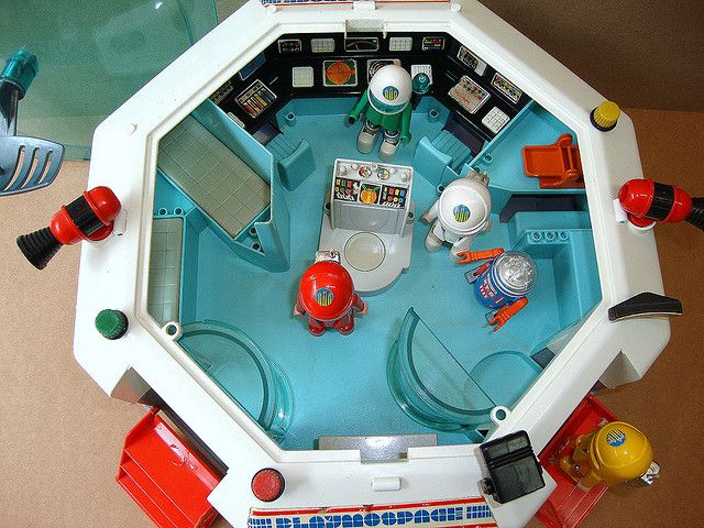 Playmospace Playmobil by wagner_arts, via Flickr