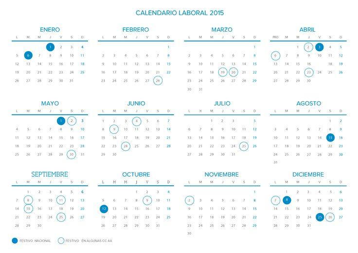 Calendario laboral 2015: un año de trabajo sin puentes - Domestica tu Economía | Cetelem España. Grupo BNP Paribas