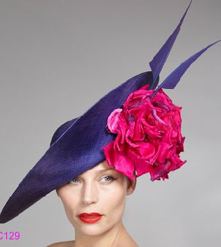 Philip Treacy HatPink Flower, Magenta Flower, Purple Hats, Treacy Hats, Mad Hatters, Treacy Philip, Philip Treacy, Fashion Hats, Philip Hats