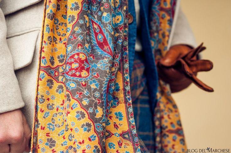 Pitti Uomo 91 gennaio 2017 http://www.ilblogdelmarchese.com/pitti-uomo-91-gennaio-2017/ #scarf #pitti91 #pittiuomo #pittiuomo91 #streetstyle #tyle #moda #bespoke #ilblogdelmarchese #gentleman #dandy #firenze #modauomo #sciarpe