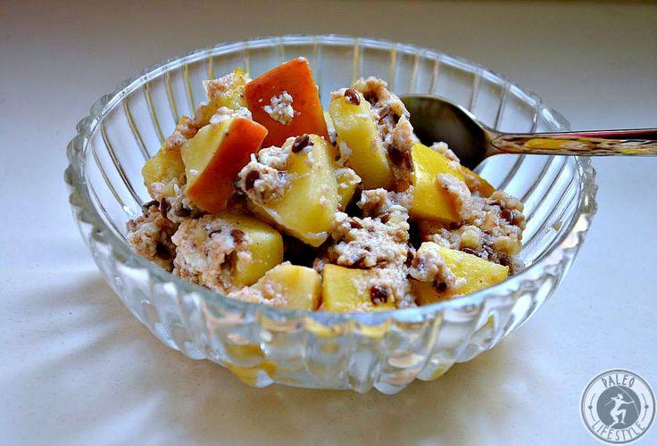 Die Paleo Apfel-Zimt-Haferflocken sind ein unglaublich leckeres Frühstück, das Energie spendet und lange sättigt - ohne Gluten!