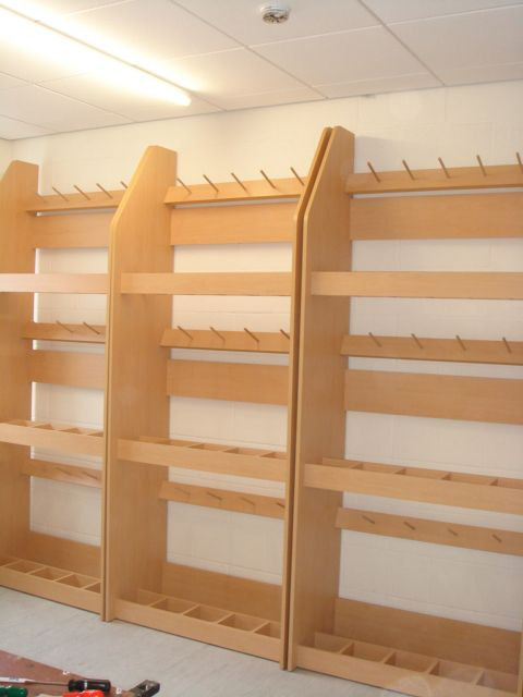 Instrument Storage Racks For Violins String Bass And
