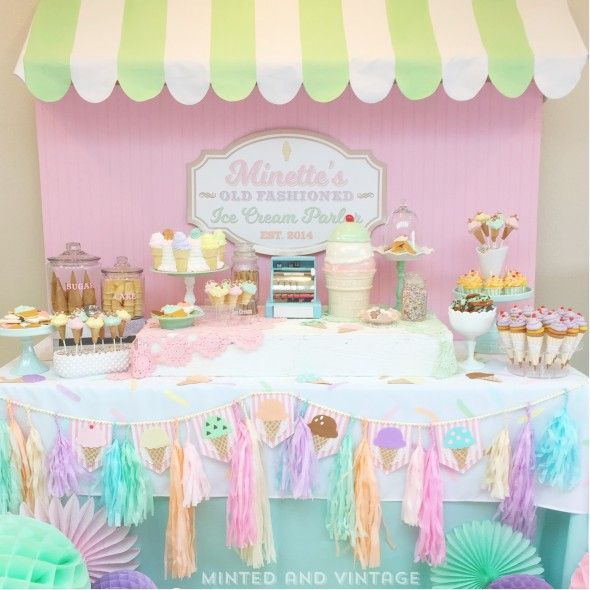 Blog | Minted and Vintage Dessert Stand Rentals ~ Los Angeles, CA