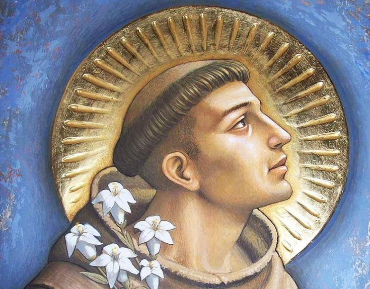 Anthony of Padua is right up there probably in the top 10 of most popular Catholic saints. Description from afriarslife.blogspot.ca. I searched for this on bing.com/images