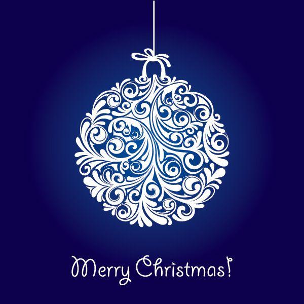 Christmas Ball Vector Graphic