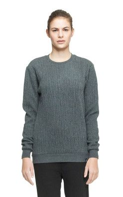 Onepiece London College Sweater Gris chiné foncé