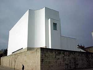 Santa Maria Church, Marco de Canavezes, Portugal; designed by Alvaro Siza