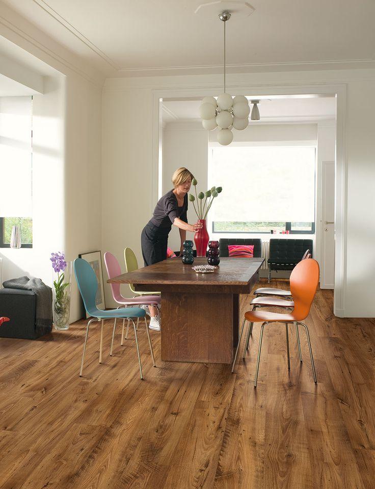 Quick Step Laminate Flooring transition Quick Step Eligna Wide Reclaimed Chestnut Antique Uw1543 Laminate Flooring