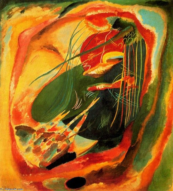 Kandinsky--I believe he is my favorite. I feel his paintings within the heart of my soul--sb