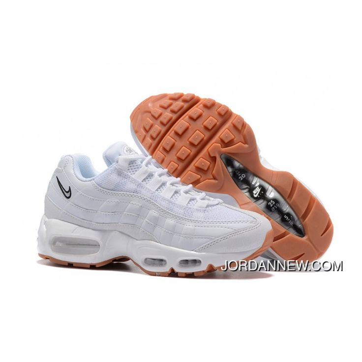 2017 Nike Air Max 95 ESSENTIAL Womens Running Shoes White 807443 061 Top  Deals