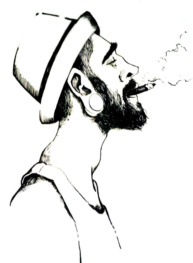Rabisco do Nicolas Peter. #IlustraSafari