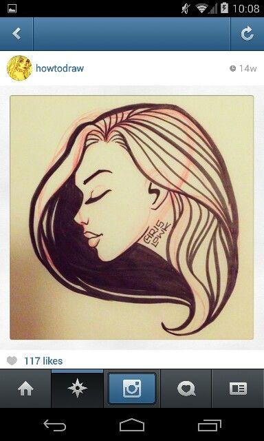 Simplistic girl