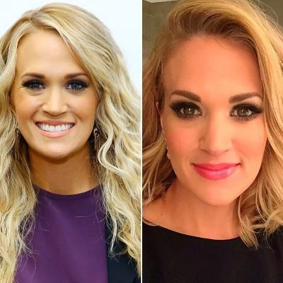 Buzzing: Carrie Underwood Chopped Her Hair Into a Bob #fashion