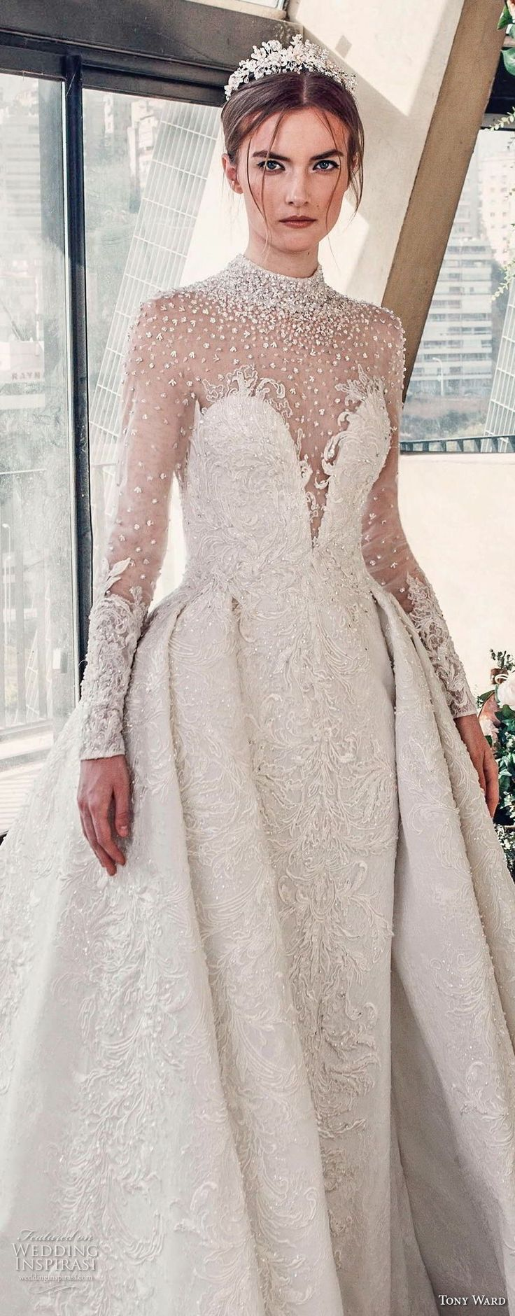 3114 best Brautkleider images on Pinterest | Gown wedding, Groom ...