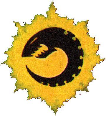 The old-school Genestealer cult logo.