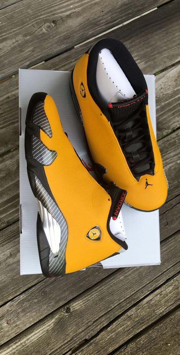 sneakers for cheap b6b2f 29341 VISIT FOR MORE Air Jordan 14 Reverse Ferrari size 9 DS The ...