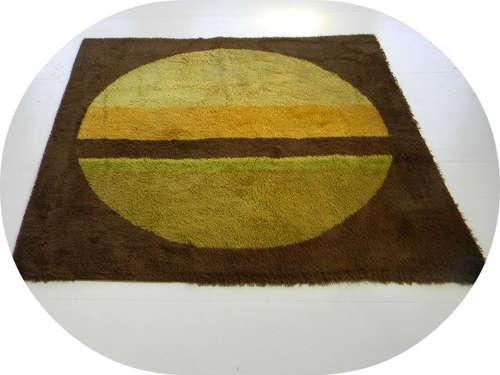 Panton Eames Knoll Era Geometric 60s 70s Midcentury Rug Carpet Mod Wall Art | eBay