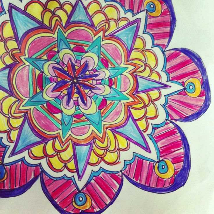 1000+ images about How to Draw Mandalas (And Why You Want ...