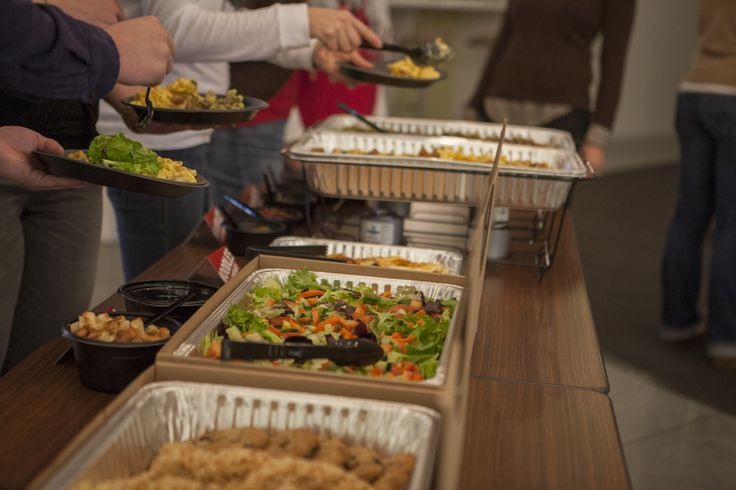 Buffet-style NoodlesBar Catering makes it easy to serve unique flavors from around the world to lots of people.