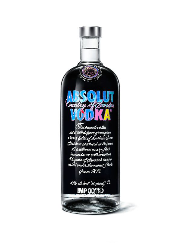 The Andy Warhol Absolut Vodka limited edition bottle Photo via: F&B News