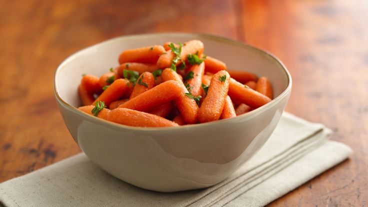 Come home to this delicious sweet baby carrots side dish that's made in a slow cooker.