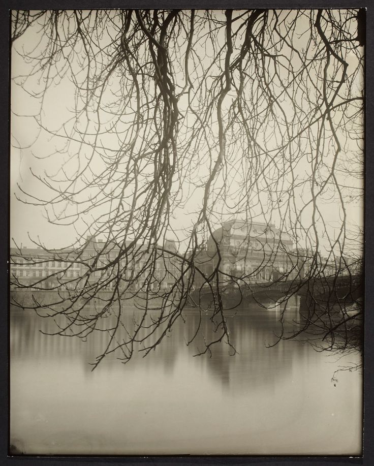 Josef Sudek Prague, The National Theater Across the River 1950–60 Courtesy of AGO/Estate of Anna Farova © 2012