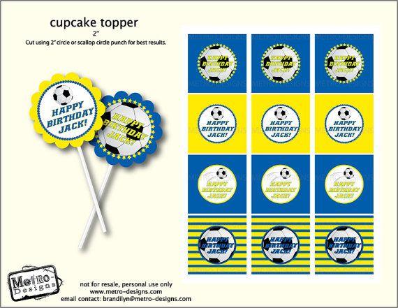 Étiquettes thème soccer - utiliser pour les cadeaux, toppers cupcake, étiquettes de faveur et tout ce que vous pouvez imaginer de.  Créé par Metro-designs exclusivement pour etsy !  +++++++++++++++++++++++++++++++++++++++++++++++++++++++++++++++++++++++++  Quand vous passez votre commande veuillez inclure :  1. Nom pour les balises  2. Couleur de codes pour les couleurs que vous souhaiteriez    Sil vous plaît nhésitez pas à me contacter pour toute question.    * Veuillez prendre note des…