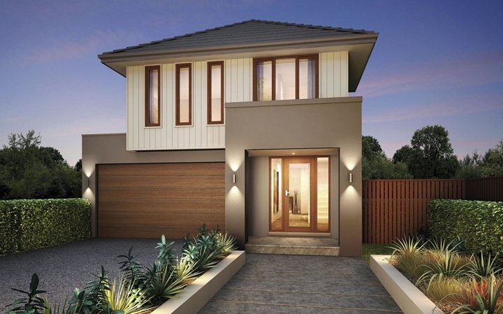 Metricon Home Designs: The Banksia - Coastal Facade. Visit www.localbuilders.com.au/builders_nsw.htm to find your ideal home design in New South Wales