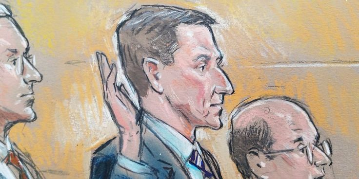 Here are the courtroom sketches from Michael Flynn's plea hearing