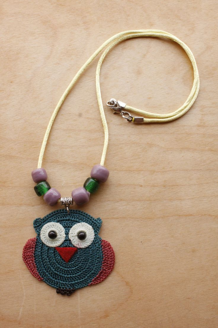 Owl Necklace (Available in different colors) ON03