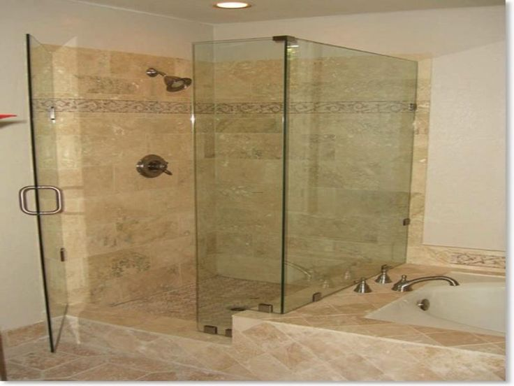 A Good Idea Is To Choose Ceramic Tile Shower Design Ideas Contrasting Colors For The Floor Tiles And Wall Tiles Description From