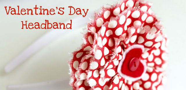 Valentines Day Headband...or any other day for that matter!