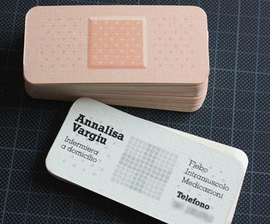 Tarjetas de presentación de diseñadores muy originales
