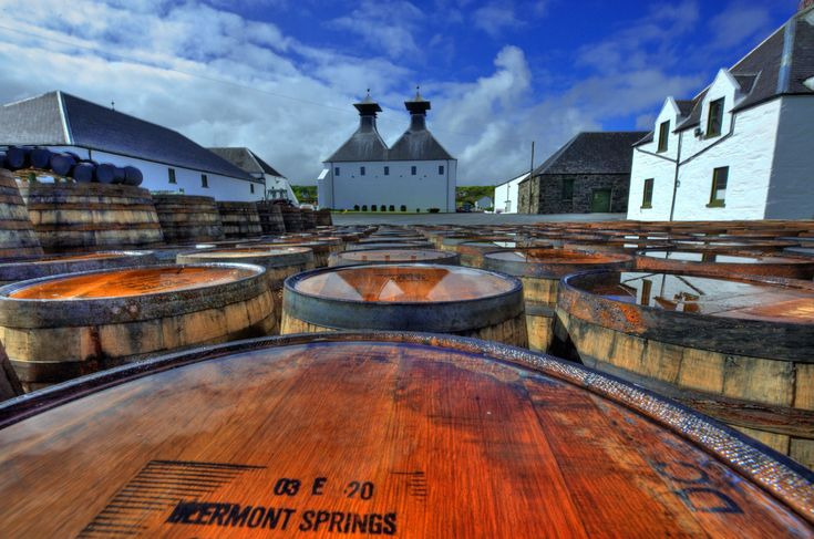 """A highlight of the Highlands is the whisky distilleries that open their doors to visitors for a tour and a dram. Here, a view over barrels at Ardbeg (ardbeg.com) on Islay, the southernmost of the Inner Hebrides and home to eight distilleries, including Lagavulin and the famously peaty Laphroaig (laphroaig.com). On Skye, you'll find Talisker nestled beside a sea loch, while Dalwhinnie, the highest distillery in Scotland, is located in the Cairngorms. But head to Speyside for sheer…"